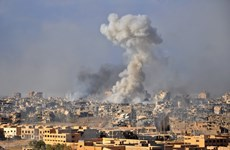 Iraq không kích phá hủy sở chỉ huy của tổ chức IS ở Syria
