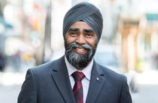 Bộ trưởng Quốc phòng Canada Sajjan sắp thăm Việt Nam