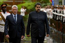 Chủ tịch Cuba Miguel Diaz-Canel thăm chính thức Venezuela