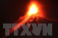 Núi lửa phun trào tại Tây Nam Guatemala gây cột tro cao 11km