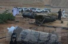 Saudi Arabia chặn tên lửa đạn đạo của phiến quân Houthi