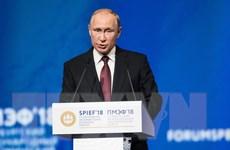 Ông Putin khẳng định kinh tế Nga đã vào quỹ đạo tăng trưởng bền vững