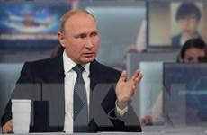 Tổng thống Putin trả lời trực tuyến: Đáp ứng sự mong đợi của người dân