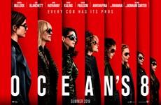 """Dàn """"nữ tướng cướp"""" trong """"Ocean's 8"""" cướp ngôi phòng vé Bắc Mỹ"""