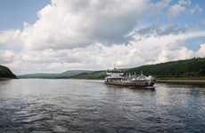 Du thuyền va chạm với tàu chở hàng trên sông Volga, 9 người tử vong