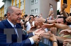 Bầu cử Thổ Nhĩ Kỳ 2018: Tổng thống và đảng AKP cầm quyền đang dẫn đầu