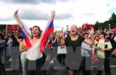 World Cup 2018: Đội tuyển Nga được đón chào như những nhà vô địch