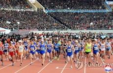 Giải Marathon Bình Nhưỡng được Liên đoàn Điền kinh quốc tế công nhận