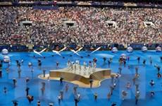 Những màn trình diễn ấn tượng tại lễ bế mạc World Cup 2018