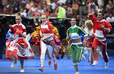 Nhìn lại những hình ảnh ấn tượng tại Lễ bế mạc World Cup 2018