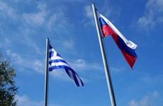 """Moskva triệu đại sứ phản đối tuyên bố """"chống Nga"""" của Hy Lạp"""