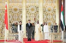 Trung Quốc, UAE nâng cấp quan hệ lên tầm đối tác chiến lược toàn diện