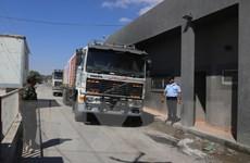 Israel mở cửa lại một phần cửa khẩu hàng hóa với Dải Gaza