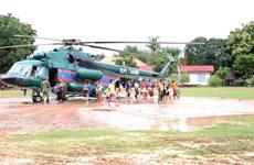 Vỡ đập thủy điện Lào: Công tác cứu hộ, cứu trợ cơ bản là thành công