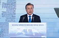 Triều Tiên nêu nguyên do tỷ lệ ủng hộ Tổng thống Moon Jae-in sụt giảm