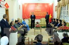 Chủ tịch nước Trần Đại Quang đến thăm Đại sứ quán Việt Nam tại Ai Cập