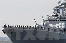Hạm đội phương Bắc của Nga tập trận chống phá hoại ở Địa Trung Hải