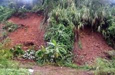 Nguy cơ lũ quét, sạt lở đất tiếp tục xảy ra ở vùng núi Bắc Bộ