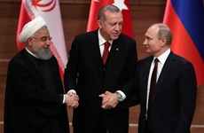 Nga, Iran và Thổ Nhĩ Kỳ sẽ hợp tác để xóa sổ IS và Mặt trận Al Nusra