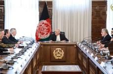 Bộ trưởng Quốc phòng Mỹ James Mattis hội kiến Tổng thống Afghanistan