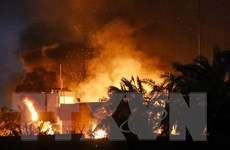 Phản ứng của Iran sau vụ đốt lãnh sự quán ở miền Nam Iraq
