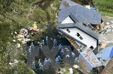 40.000 người nỗ lực tìm kiếm nạn nhân còn sống sau động đất ở Hokkaido