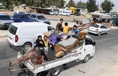 Hơn 38.000 người dân tại Idlib đi lánh nạn trong hai tuần qua