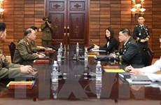 Hai miền Triều Tiên đồng ý giải giáp khu vực an ninh chung