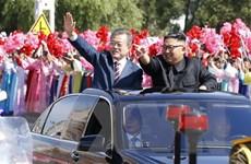 Tổng thống Hàn Quốc bày tỏ lạc quan về kết quả thượng đỉnh liên Triều