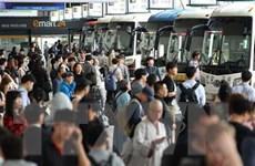 Hàng triệu người Hàn Quốc trở về quê đón Tết Trung Thu