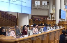Phó Chủ tịch nước kết thúc tốt đẹp tham dự Diễn đàn Phụ nữ Á-Âu lần 2