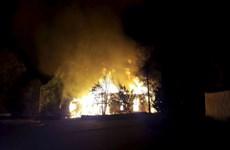 Phần Lan: Nghi có người phóng hỏa thiêu nhà thờ gỗ trên 250 năm tuổi
