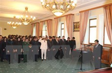 Bạn bè Nga và quốc tế tiễn biệt Chủ tịch nước Trần Đại Quang