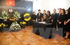 Lễ viếng Chủ tịch nước Trần Đại Quang tại Mexico và Ba Lan