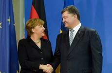 Tổng thống Ukraine điện đàm với Thủ tướng Đức về tình hình miền Đông