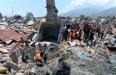 Indonesia đề cao vai trò của quân đội trong cứu trợ thảm họa động đất