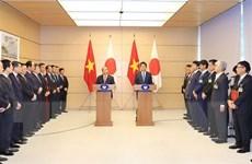 Thủ tướng Abe: Nhật Bản sẽ tiếp tục hỗ trợ mạnh mẽ Chính phủ Việt Nam