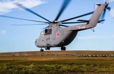 Nga sắp hoàn tất các cuộc thử nghiệm trực thăng Mi-26T2V hiện đại