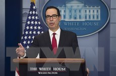 Bộ trưởng Tài chính Mỹ cảnh báo các nước nhập khẩu dầu mỏ từ Iran
