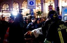 [Video] Sập thang cuốn ở nhà ga làm hơn 20 người bị thương