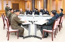 Hai miền Triều Tiên sắp hoàn tất dỡ bỏ vũ khí, trạm gác tại biên giới