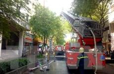 Hỏa hoạn tại khách sạn ở Thành phố Hồ Chí Minh, du khách hoảng loạn