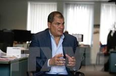 Cựu Tổng thống Ecuador xin tị nạn tại Bỉ trước khi bị truy tố