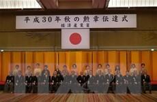 Chủ tịch Hội người Việt Nam tại Nhật Bản được trao tặng Huân chương