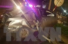 Hai vụ tai nạn giao thông xảy ra cùng địa điểm, 3 người bị thương nặng