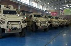 Iran công bố mẫu xe quân sự bọc thép sản xuất trong nước