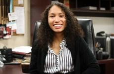 Sinh viên da màu trở thành Tổng Biên tập tờ báo của Đại học Havard