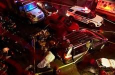 Xe ôtô lao vào khu người Hoa ở New York, 7 người thương vong