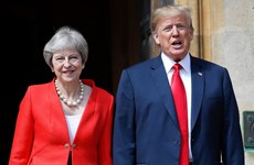 Tổng thống Trump lo ngại về tương lai quan hệ thương mại với Anh