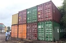 Bình Định xử lý 7 container nhựa phế liệu không có người nhận